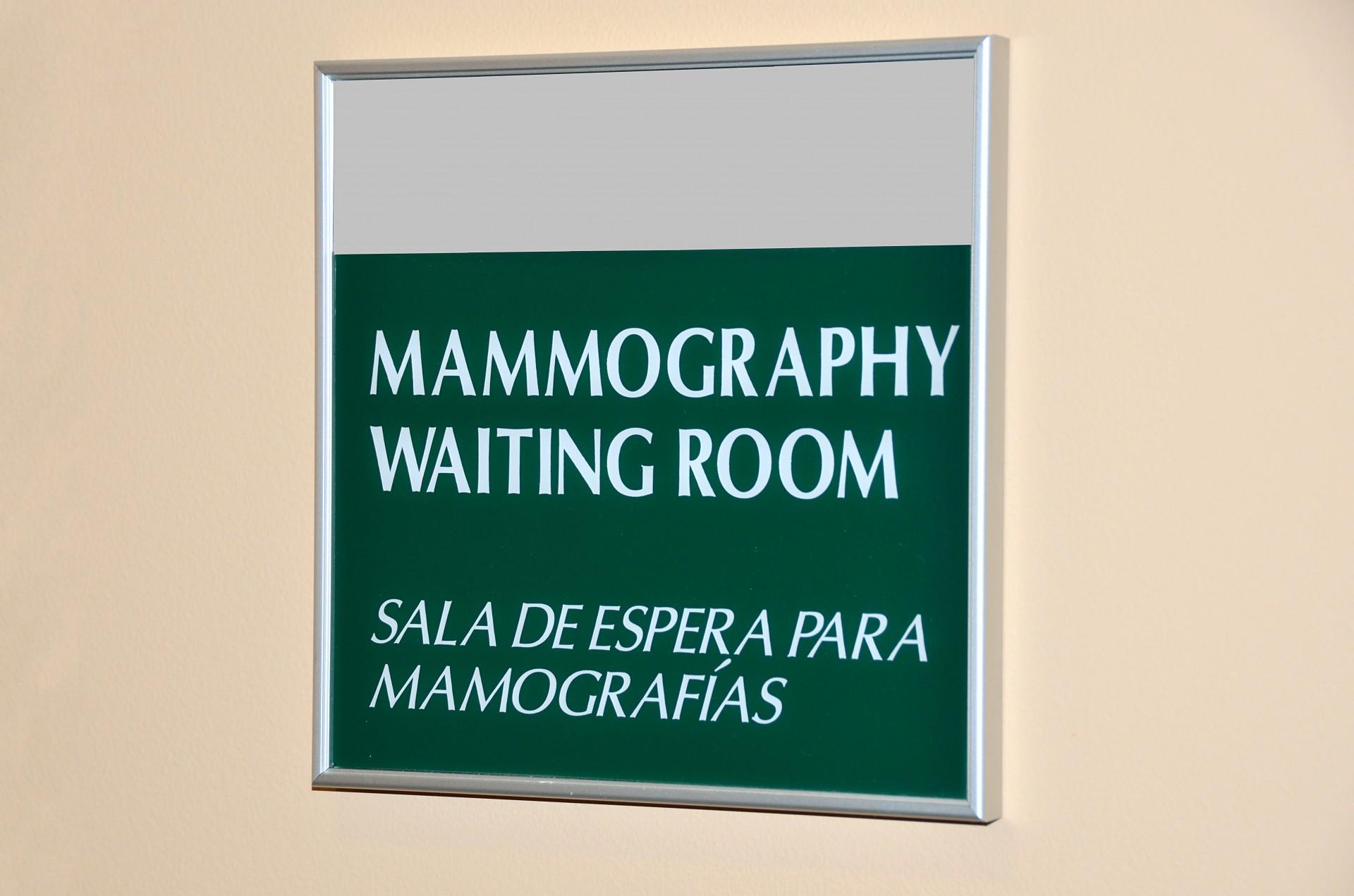 Apúntese para la mamografía