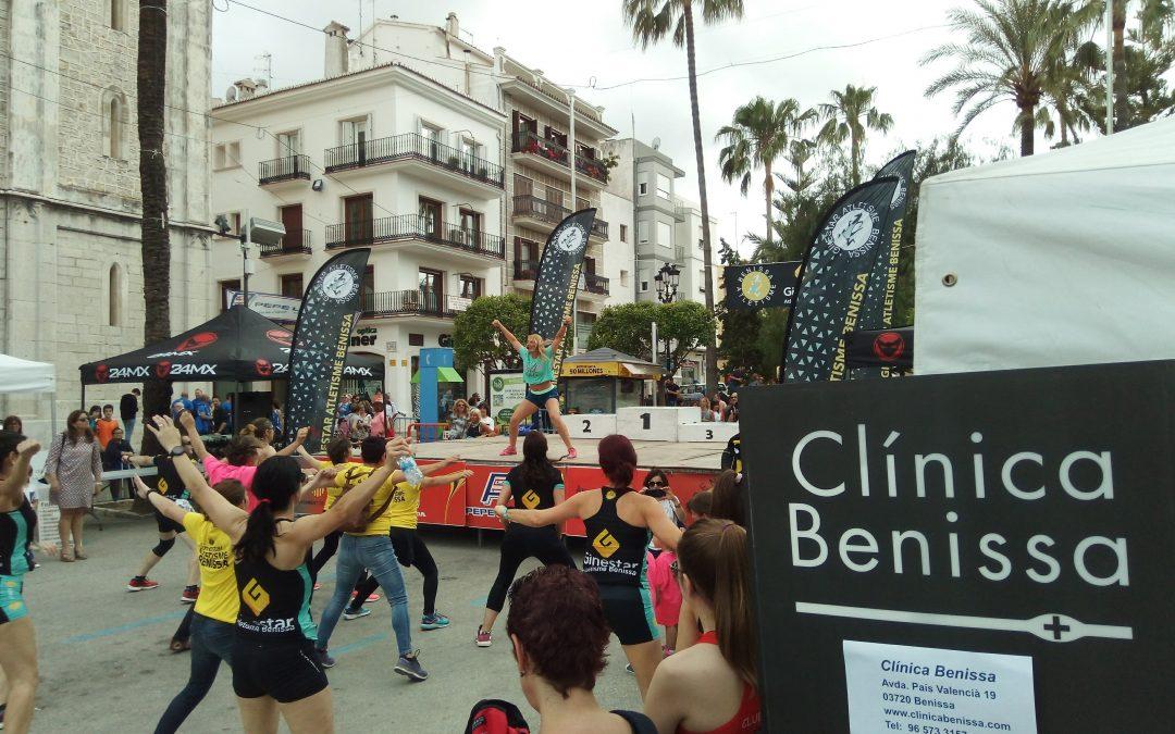 Clínica Benissa van de partij bij hardloopwedstrijd in Benissa
